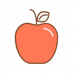 apple, calcium, fruit, healthy, protin, vitamin icon