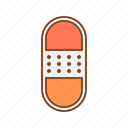 bandage, cut, medicinal, pharmaceutical, wound icon