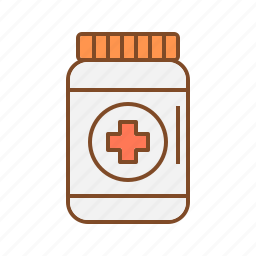 bottle, container, medication bottles, medicine icon