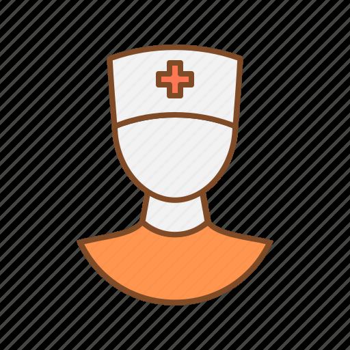 clinic attendant, health, medical, medical attendant, medicine, nurse icon