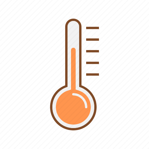 disease, fever, ill, infection, sick, thermometer icon