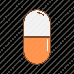 capsule, health, medical, medicine, pharmacy icon