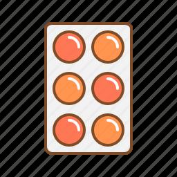 medicine, medicine strip, pharmacy, strip, tablet, tablet strip icon