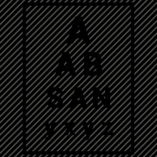 a, b, comparison, document, file, split, test icon