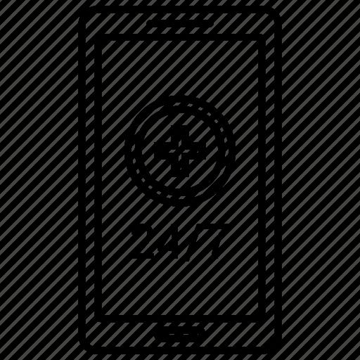 customer support, helpline icon