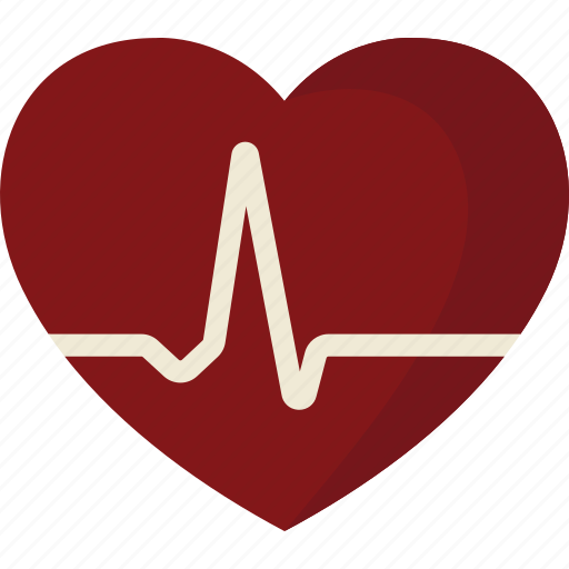 ekg, heart, monitor, rate icon