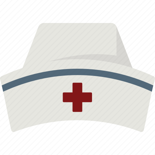 hat, nurse, nurse hat, nurse's hat, nurses hat icon