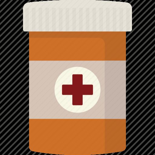bottle, medication, medicine, pill icon
