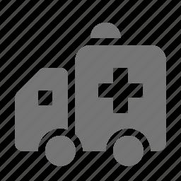 ambulance, healthcare icon