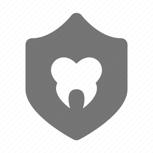 dentist, health, security, shield, tooth icon