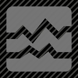 graph, health icon