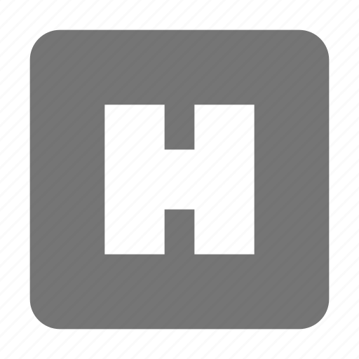 health, hospital, sign icon