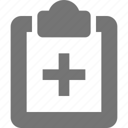 clipboard, health, healthcare, prescription icon