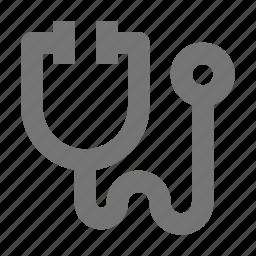 health, stethoscope icon