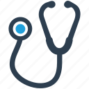 healthcare, medical, stethoscope icon