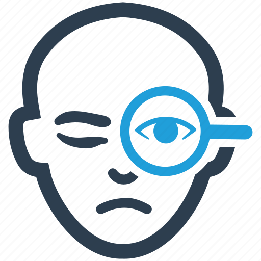 biometric, eye, iris, retina, scan icon
