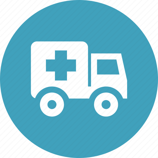 ambulance, emergency, emt, healthcare, medical, patient icon