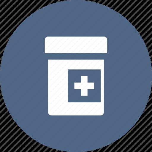 drugs, jar, medication, medicine, pills, prescribe, prescription icon