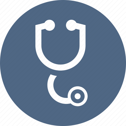 cardiac, doctor, exam, heartrate, hospital, medical, stethoscope icon