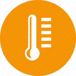 cold, fever, hot, medical, temperature, thermometer, weather icon