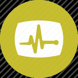 activity, health, healthcare, pulse, rate, vitals icon