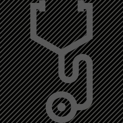 doctor, health, hospital, medical, medicine, stethoscope icon
