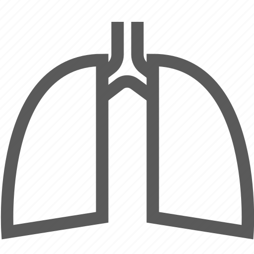 anatomy, body, breath, human, lung, organ, surgery icon