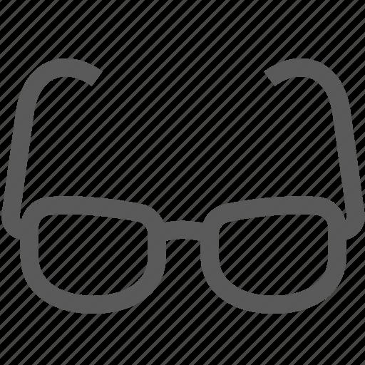 eye, eyeglasses, glasses, ophthalmology icon