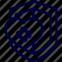 bukeicon, health, insurance, protection