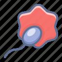 ovum, sex, sperm icon