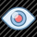 eye, oculist, watch icon