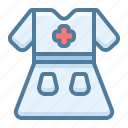 clothes, clothing, medical form icon