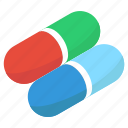 capsule, medication, medicine, pills, tablet icon