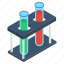 lab apparatus, lab equipment, laboratory testing, laboratory tool, test tube icon
