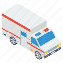 ambulance, emergency services, healthcare service, hospital ambulance, medical transport icon