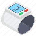 diabetes test, glucometer, glucose monitoring, medical device, sugar test icon