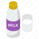 liquid food, liquor, milk bottle, milk can, milk container icon