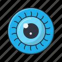 eye, lens, medical, optical, view