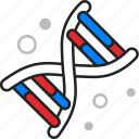 strand, dna, molecule icon