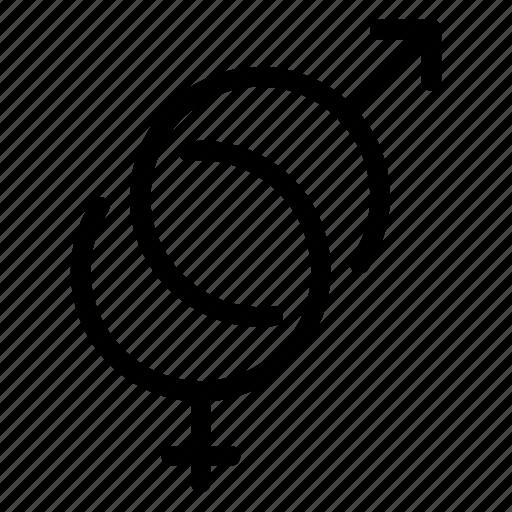 gender, love, relationship, romantic, valentine, wedding icon