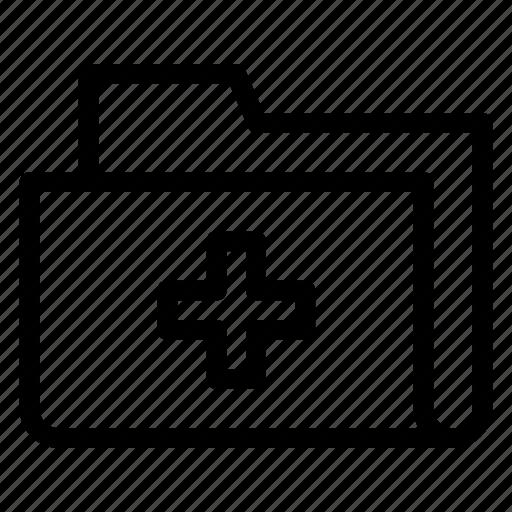 data, document, files, folder icon