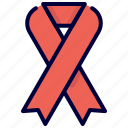 awareness, band, bukeicon, cancer, medical, ribbon, strip icon