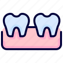 dental, health, medical, root, tooth icon