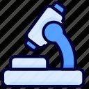 health, lab, medical, microscope icon