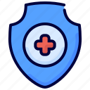 healthcare, insurance, medical, protection, shield