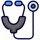 check, doctor, medical, stethoscope icon