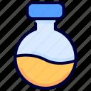 bottle, laboratory, medical, science, tube icon