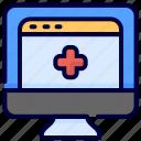 healthy, medical, website icon