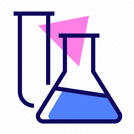 analysis, flask, medical, test icon