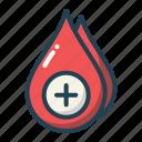 blood, drop, transfusion, donation